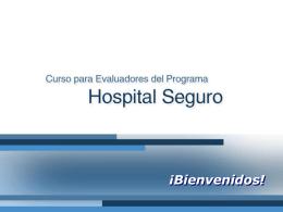 Programa Hospital Seguro en México