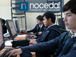 Presentación para empresas - Fundación Educacional Nocedal