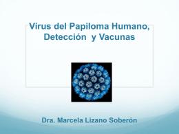 Virus del Papiloma Humano, Detección y Vacunas