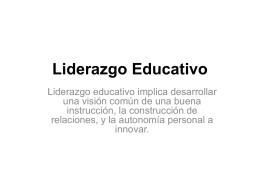 Cuadrante D Liderazgo - Universidad Finis Terrae