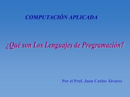 Lenguajes de Programación  - UCAB
