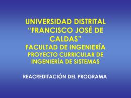 PresentacionReacreditacion2009