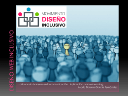 Descargar presentación - Movimiento de Diseño Inclusivo