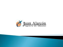 Presentación de PowerPoint - Sitio Oficial Agencia de Aduana Juan
