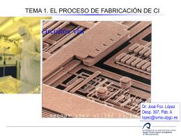 Fabricación de Circuitos Integrados