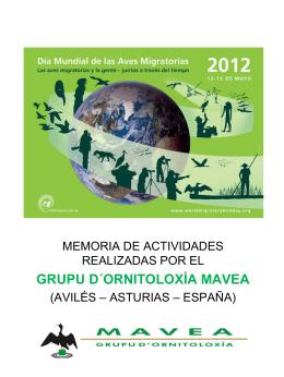 Día mundial de las Aves Migratorias 2012.