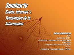 Redes inalámbricas - TAC