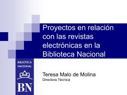 presentación - Biblioteca Nacional de España