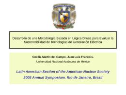 Desarrollo de una Metodología Basada en Lógica Difusa - LAS-ANS