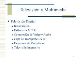 Presentacion Introducción a la Television Digital