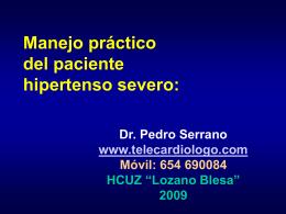 ppt: manejo del paciente hipertenso