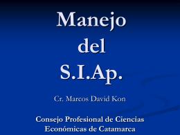 SIAp. - Consejo Profesional de Ciencias Económicas