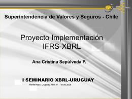 La implantación de XBRL en la