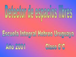 1508/2030/detector de espacios libres