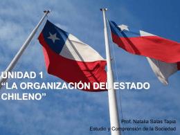 """unidad 1 """"la organización del estado chileno"""""""