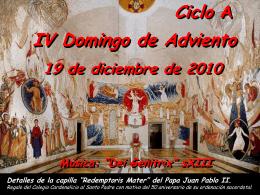 Presentación de PowerPoint - Twitter Parroquia Santa María Micaela