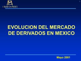 Mercado de Derivados en México: Antecedentes