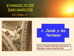 Marcos 3 - Alianza en Jesús por María