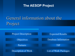 General information about the project