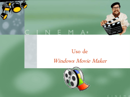Guía de instrucciones para Windows Movie Maker