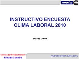 MEDICIóN CLIMA ORGANIZACIONAL HOLDING