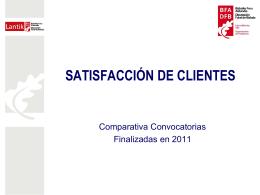 Convocatorias finalizadas en 2011 (585 Kb. )