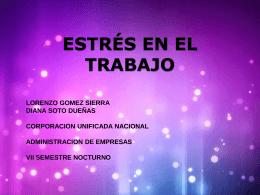 EL ESTRÉS. - Etica Humana