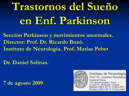 Cefalea y Sueño - Sociedad de Neurología del Uruguay