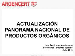 Norma Argentina de Vinos Orgánicos