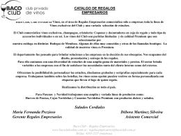 Baco Club – Regalos Empresarios www