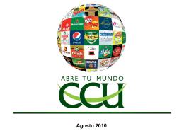 Agosto 2010 - CCU Investor