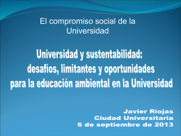 Diapositiva 1 - Seminario de Educación Superior de la UNAM