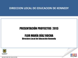 Presentación Rectores Enero 2013 - PowerPoint