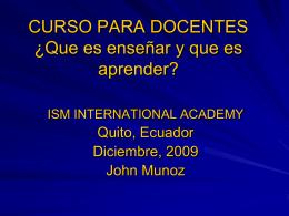 Diapositiva 1 - ismcapacitacion