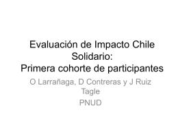 Evaluación de Impacto Chile Solidario: Primera cohorte de