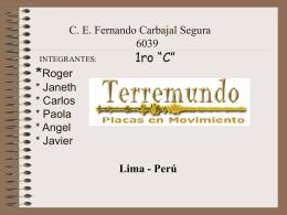 PRIMERA SECCION ¿Qué,donde,como,por qué?