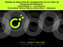 Diapositiva 1 - m  s - Universidad Técnica Federico Santa María