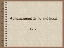 Informática Aplicada a la Gestión de Empresas