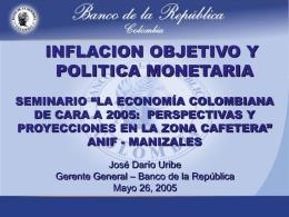 Presentación - Banco de la República