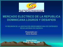 4. Conformación del Sistema Eléctrico Nacional Interconectado