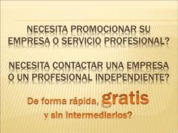Catálogo - Profesionales en Panama