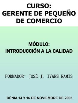 CURSO: GERENTE DE PEQUEÑO DE COMERCIO