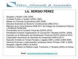 Diapositiva 1 - Colegio de Ciencias Económicas