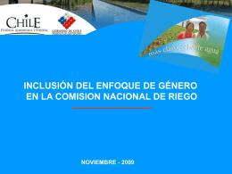 Loreto Mery_CNR - Comisión Nacional de Riego