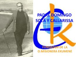 P.DOMINGO SOLÁ Y CALLARISSA