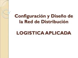 Diseño de la Red de Distribución