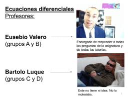 1_EDOs - Departamento de Matemática Aplicada y Estadística
