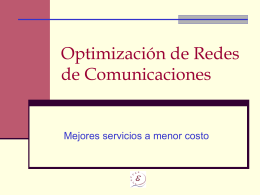 Aprovechando Internet para optimizar las
