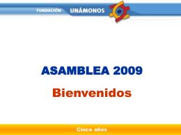 Año 2008 - Fundación Unámonos