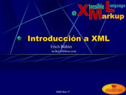 Introducción a XML (español)